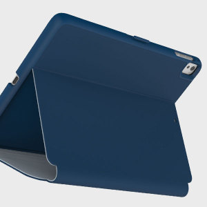 Proporcione una protección elegante y sofisticada a su iPad Pro 9.7 con la funda StyleFolio de Speck. Incorpora la completa función de soporte de visualización multimedia y un cierre de seguridad.