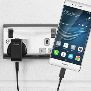 Charge your Huawei P9 and any other USB device quickly and conveniently with this compatible 2.4A high power USB-C UK charging kit. Featuring a UK wall adapter and USB-C cable.