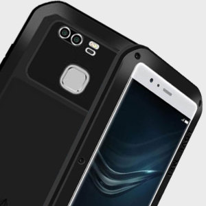 Protect your Huawei P9 with one of the toughest and most protective cases on the market, ideal for helping to prevent possible damage from water and dust - this is the black Love Mei Powerful Protective Case.
