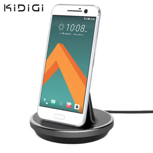 Synchronise and charge your HTC 10 with this stylish and case compatible desktop dock which also acts as a multimedia stand. Supports USB-C (USB Type-C).