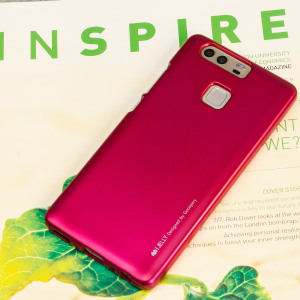 A premium gel case for your Huawei P9. The Mercury Goospery features a premium metallic pink gloss UV finish and robust high quality TPU gel material that will take all the knocks and look fabulous while doing so.