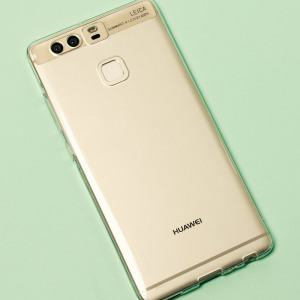 Custom moulded for the Huawei P9, this 100% clear Olixar FlexiShield case provides slim fitting and durable protection against damage.