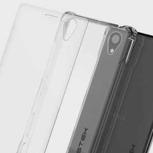 The Covert Protective bumper case in clear from Ghostek comes complete with a tough tempered glass screen protector to provide your Sony Xperia X with fantastic all round protection, whilst highlighting its superb design.