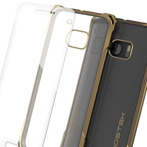 The Covert Protective bumper case in gold and clear from Ghostek comes complete with a tough tempered glass screen protector to provide your HTC 10 with fantastic all round protection, whilst highlighting its superb design.