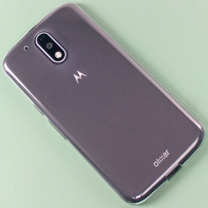 Olixar Ultra-Thin Moto G4 Plus Gel Case - 100% Clear