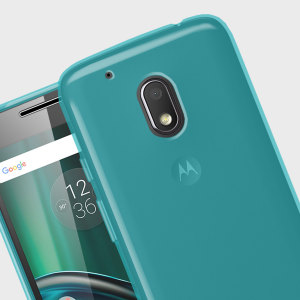Custom moulded for the Motorola Moto G4 Play, this blue FlexiShield case by Olixar provides slim fitting and durable protection against damage.