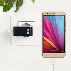 Charge your Huawei Honor 5X and any other USB device quickly and conveniently with this compatible 2.4A high power micro USB EU charging kit. Featuring an EU wall adapter and micro USB cable.