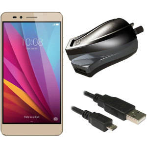 Charge your Huawei Honor 5X and any other USB device quickly and conveniently with this compatible 2.4A high power micro USB Australian charging kit. Featuring an AUS wall adapter and a micro USB cable.