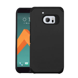 Provide your HTC 10 with tough, rugged protection in a slim and stylish package with the incredibly protective Slim Hybrid case in black from Zizo. The Slim Hybrid is extremely tough due to its dual layered and shock absorbent design.