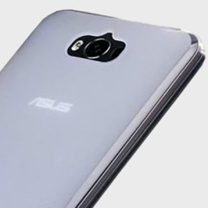 Custom moulded for the Asus Zenfone Max, this frost white Flexishield case provides a slim fitting and durable protection against damage.
