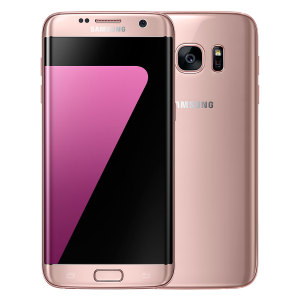 Meet the next generation of smartphones, the 32GB Samsung Galaxy S7 Edge in pink gold delivers exceptional performance thanks to it's sleek construction, 5.5 QHD Super AMOLED display, water / dust resistance and 12MP f1.7 enhanced camera.