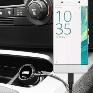 Keep your Sony Xperia XA fully charged on the road with this high power 2.4A Car Charger, featuring extendable spiral cord design. As an added bonus, you can charge an additional USB device from the built-in USB port!