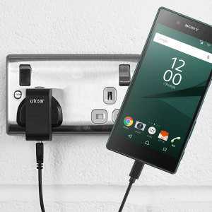 Charge your Sony Xperia Z5 quickly and conveniently with this 2.5A high power charging kit. Featuring mains adapter and USB cable.
