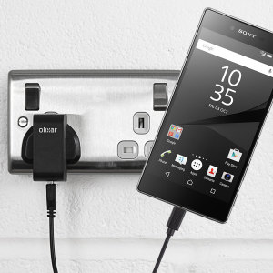 Charge your Sony Xperia Z5 Premium quickly and conveniently with this 2.4A high power charging kit. Featuring mains adapter and USB cable.