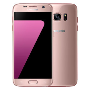 Meet the next generation of smartphones, the 32GB Samsung Galaxy S7 in pink gold delivers exceptional performance thanks to it's sleek construction, 5.1 QHD Super AMOLED display, water / dust resistance and 12MP f1.7 enhanced camera.