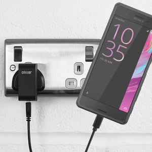 Charge your Sony Xperia X Performance quickly and conveniently with this compatible 2.4A high power charging kit. Featuring mains adapter and USB cable.
