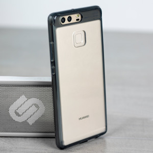 Protect the back and sides of your Huawei P9 with this incredibly durable and crystal backed Fusion Case by Ringke, in smoke black.
