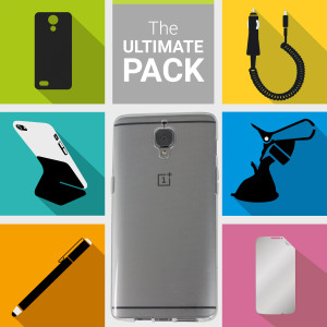 The Ultimate Pack for the OnePlus 3T / 3 consists of fantastic must have accessories designed specifically for the OnePlus 3.