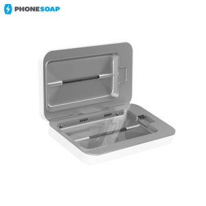 Introducing the PhoneSoap 2.0 phone sanitiser and phone charger. Featuring UV lights, PhoneSoap 2.0 cleanses your phone from bacteria and viruses, while also having the capability of charging your phone at the same time.