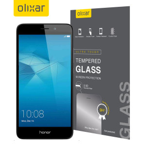 This ultra-thin tempered glass screen protector for the Huawei Honor 5C from Olixar offers toughness, high visibility and sensitivity all in one package.