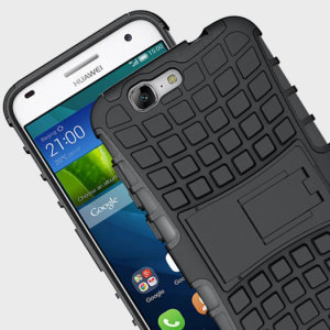Protect your Huawei Ascend G7 from bumps and scrapes with this black ArmourDillo case. Comprised of an inner TPU case and an outer impact-resistant exoskeleton, the ArmourDillo not only offers sturdy and robust protection, but also a sleek modern styling.