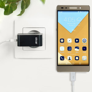 Charge your Huawei Honor 7 and any other USB device quickly and conveniently with this compatible 2.4A high power micro USB EU charging kit. Featuring an EU wall adapter and micro USB cable.