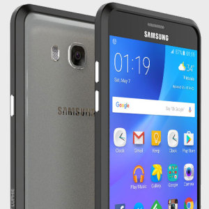Protect your Samsung Galaxy J7 2016 with this unique black aluminium bumper.The bumper protects the outer edges while providing some front and back protection and looking fabulous while doing so. Also matches the colour of your handset.