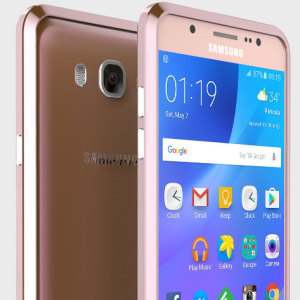 Protect your Samsung Galaxy J7 2016 with this unique rose gold aluminium bumper.The bumper protects the outer edges while providing some front and back protection and looking fabulous while doing so. Also matches the colour of your handset.