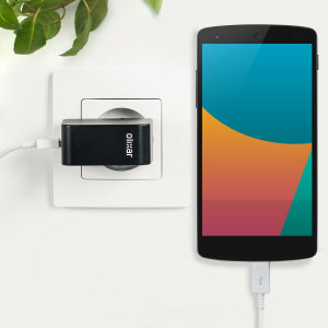 Charge your Google Nexus 5 2013 and any other USB device quickly and conveniently with this compatible 2.4A high power micro USB EU charging kit. Featuring an EU wall adapter and micro USB cable.