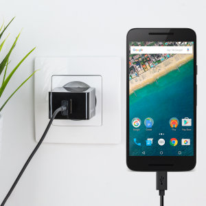 Charge your Google Nexus 5X and any other USB device quickly and conveniently with this compatible 2.4A high power USB-C EU charging kit. Featuring an EU wall adapter and USB-C cable.
