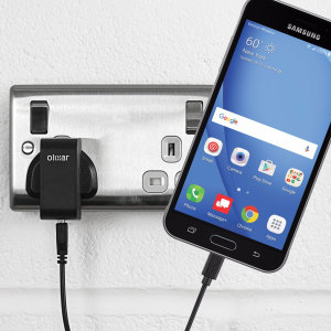 Charge your Samsung Galaxy J3 2016 quickly and conveniently with this 2.5A high power charging kit. Featuring mains adapter and USB cable.