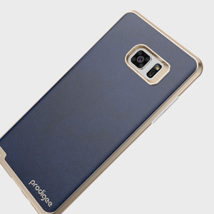Protect your Samsung Galaxy Note 7 with this elegant textured back case from Prodigee in blue. This stylish case features mark-resistant and shock absorbing qualities, excellent grip and built-in button covers.