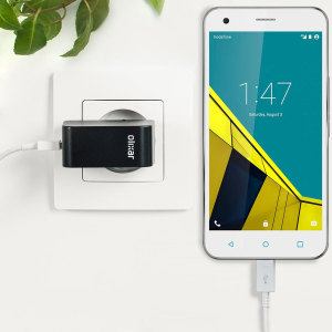 Charge your Vodafone Smart Ultra 6 and any other USB device quickly and conveniently with this compatible 2.4A high power micro USB EU charging kit. Featuring an EU wall adapter and micro USB cable.