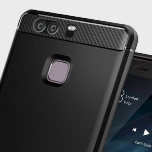 Meet the newly designed rugged armor case for the Huawei P9. Made from flexible, rugged TPU and featuring a mechanical design, including a carbon fibre texture, the rugged armor tough case in black keeps your phone safe and slim.