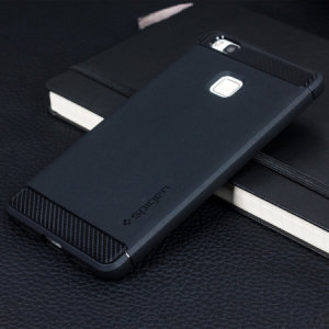 Coque Huawei P9 Lite Spigen Rugged Armor Tough - Noire