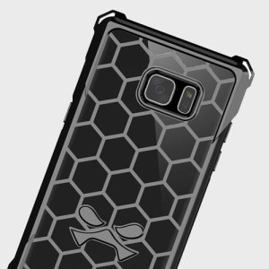 The Covert Protective bumper case in black and clear from Ghostek comes complete with a tough and highly durable film screen protector to provide your Samsung Galaxy Note 7 with fantastic all round protection, whilst highlighting its superb design.