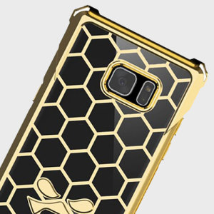 Ghostek Covert Samsung Galaxy Note 7 Bumper Case - Clear / Gold