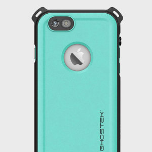 Shield your precious iPhone 6S / 6 on both land and at sea with the extremely tough, yet incredibly stylish Nautical Series Waterproof case from Ghostek in teal. Protecting your iPhone from depths of up to 1 meter for up to 30 minutes.