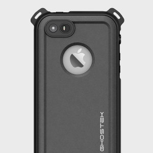 Shield your precious iPhone SE on both land and at sea with the extremely tough, yet incredibly stylish Nautical Series Waterproof case from Ghostek in black. Protecting your iPhone from depths of up to 1 meter for up to 30 minutes.