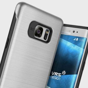 Bescherm je Samsung Galaxy Note 7 met deze nauwkeurig ontworpen case van VRS Design gemaakt van sterk maar slank materiaal. De harde schaal constructie met schok absorberende kern volgt de rondingen van je telefoon perfect.
