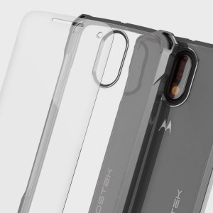 The Covert Protective bumper case in clear and black from Ghostek comes complete with a tough and highly durable film screen protector to provide your Moto G4 Plus with fantastic all round protection, whilst highlighting its superb design.