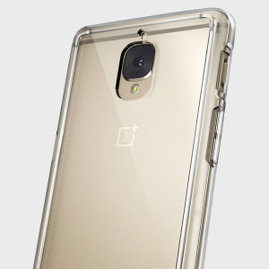Protect the back and sides of your OnePlus 3T / 3 with this incredibly durable, crystal clear backed Fusion Case by Ringke.