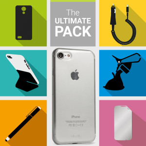 The Ultimate Pack for the iPhone 7 consists of fantastic must have accessories designed specifically for your device.