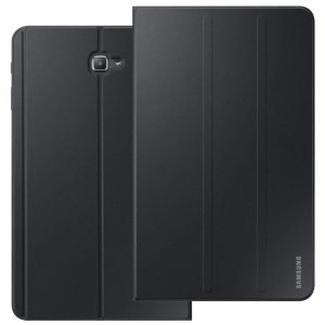 Keep your Samsung Galaxy Tab A 10.1 2016 protected from damage with this official Samsung book cover with integrated multi-level stand in black.