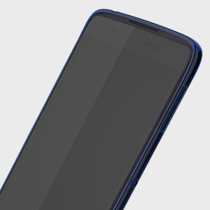Official Blackberry DTEK50 Soft Shell Translucent Case - Blue