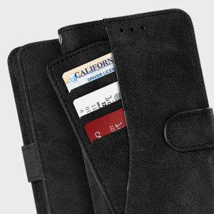 Superbe housse Samsung Galaxy Note 7 de la marque Zizo, douce, très agréable à prendre main et dotée d'un support de visualisation intégré, elle vous permettra à la fois de protéger astucieusement votre smartphone ainsi que de ranger votre carte bancaire et autres petits documents importants, tout en simplicité.