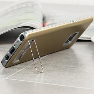 Haltbar und leicht, so ist die neue Hülle für Samsung Galaxy Note 7 von Matchnine. Diese Matchnine Pinta Hülle ist so konzipiert, damit es keine unnötige Masse dem Smartphone hinzufügt. Die Hülle mit Stand-Funktion ist eine gute Lösung, wie Sie Ihr Galaxy Note 7 von Kratzern und Stößen schützen können.
