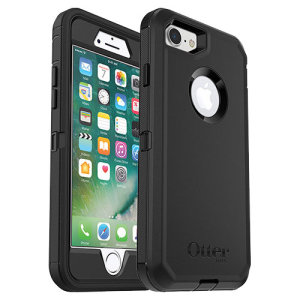 Protect your iPhone 7 Plus with the toughest and most protective case on the market - the black OtterBox Defender Series. Fully compatible with force touch, you can continue to use all of your iPhone's features whilst keeping it fully protected.