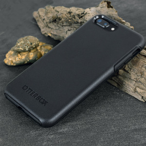 The dual-material construction makes the Symmetry case for the iPhone 8 / 7 Plus in black is one of the slimmest yet most protective cases in its class. The Symmetry series has the style you desire with the protection your phone needs.