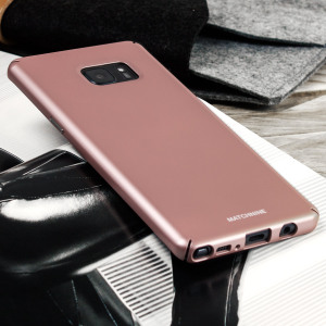 Designed for the Samsung Galaxy Note 7, this rose gold super slim protective case from Matchnine provides a perfect fit and durable protection against scratches, knocks and drops.